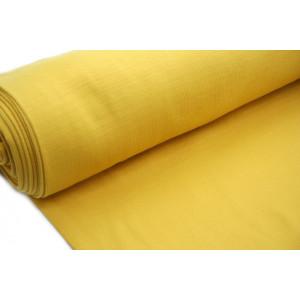 10cm Bündchen Schlauch (80 cm Umfang) Feinripp senf EU-Produktion (Grundpreis €14,00/m)