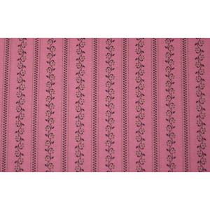 10cm Dirndlstoff (Baumwolldruck aus EU-Produktion) schmaler Blumenstreif maigrün/dunkelgrün/ALTROSA  (Grundpreis 29,00/m)