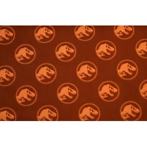 """10cm Baumwolldruck """"Jurassic World"""" ROST aus EU-Produktion  (Grundpreis € 12,00/m)  LIZENZSTOFF !!!"""