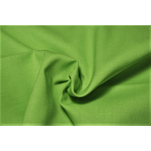 10cm Baumwollstoff uni (Standardqualität) frühlingsgrün (Grundpreis € 8,00/m)