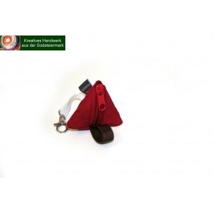 1 Stk Mini-Dreiecktäschchen ca 7 cm lt. Abbildung
