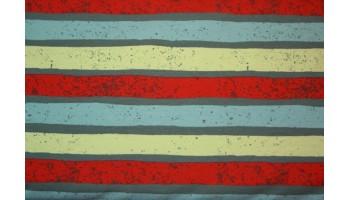 """10cm Stretchjersey """"Stripes rot"""" von Blaubeerstern (Grundpreis € 18,00/m)"""