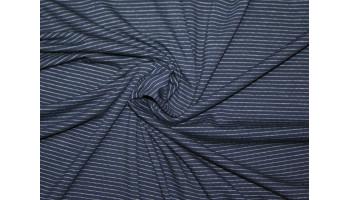 "10cm Stretchjersey ""Stripes nachtblau"" aus EU-Produktion       (Grundpreis € 17,00/m)"