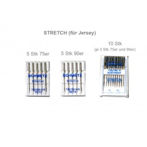1 Pkg Nähmaschinennadeln STRETCH  (für Jersey)