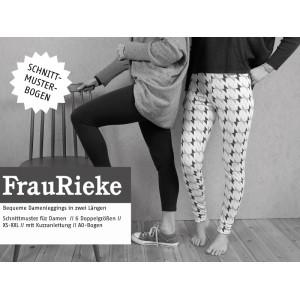 Papierschnittmuster Schnittreif FRAU RIEKE Legging Xs-XXL