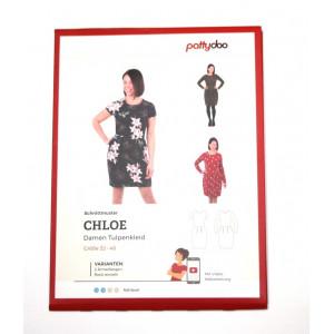 Papierschnittmuster pattydoo Damen Tulpenkleid CLOE Gr. 32 - 48