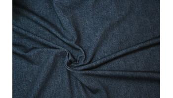 10cm Sommersweat Jeansoptik DUNKELBLAU - French Terry   (Grundpreis € 19,00/m)