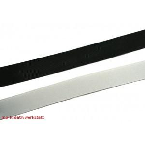 1m Gummi schwarz oder weiss 30 mm fest