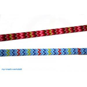 1m Webband Zickzack 16mm breit