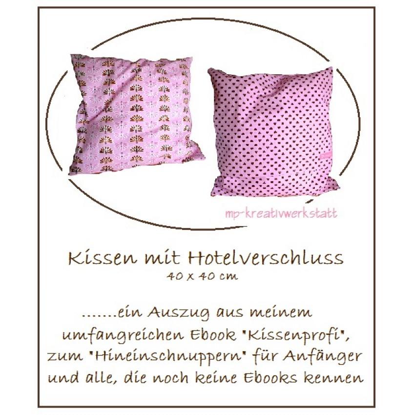 kissen mit hotelverschluss anleitung ostseesuche com. Black Bedroom Furniture Sets. Home Design Ideas